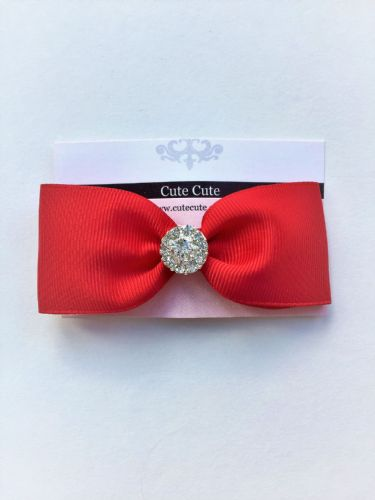 Cute Cute Red Bow Clip